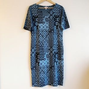 LulaRoe jacquard Julia dress